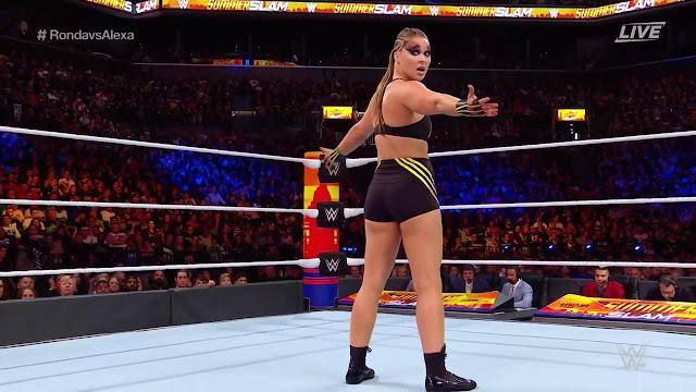 Alexa Bliss Vs Rouda Rousey SummerSlam 2018