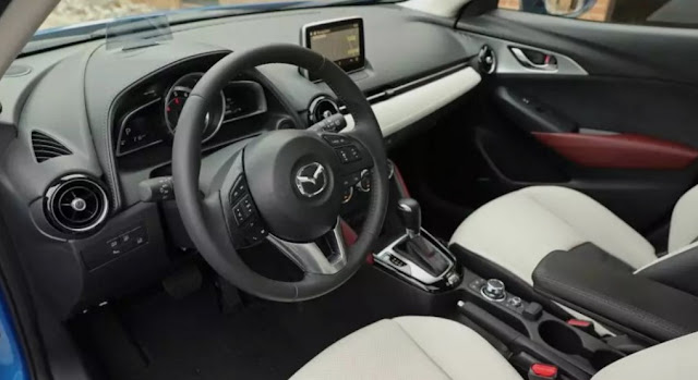 2018 Mazda CX-3 Interior Redesign