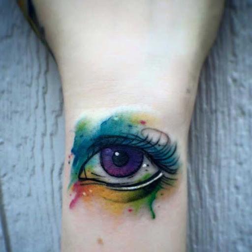Esse olho roxo