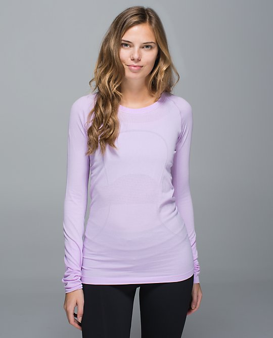 lululemon pretty purple swiftly ls