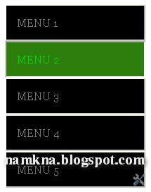 Tạo menu dọc cho blogger - http://namkna.blogspot.com/