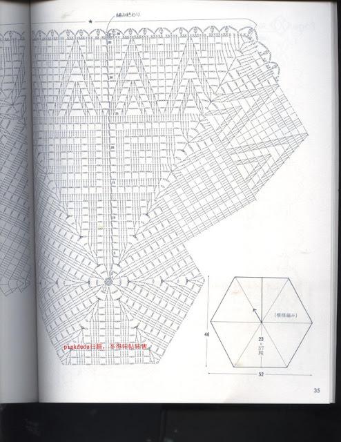 diagramme crochet japonais