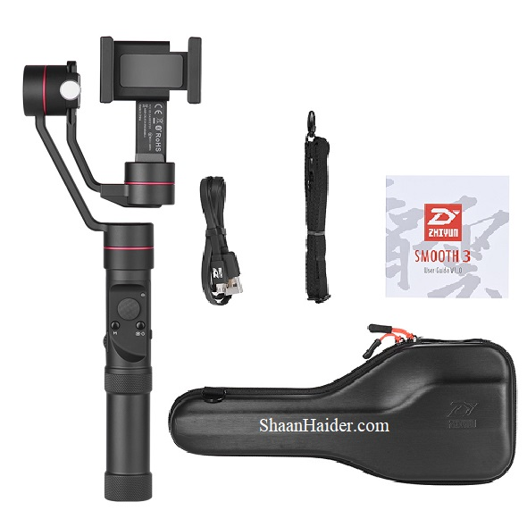 Zhiyun Smooth 3 Smartphone Gimbal : Detailed Hands-on Review