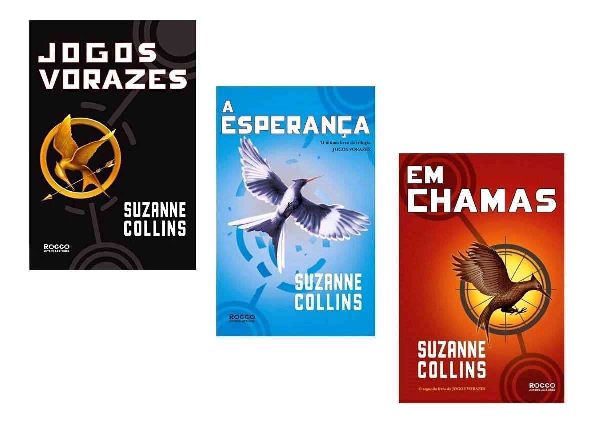 Resenha: Trilogia Jogos Vorazes, de Suzanne Collins