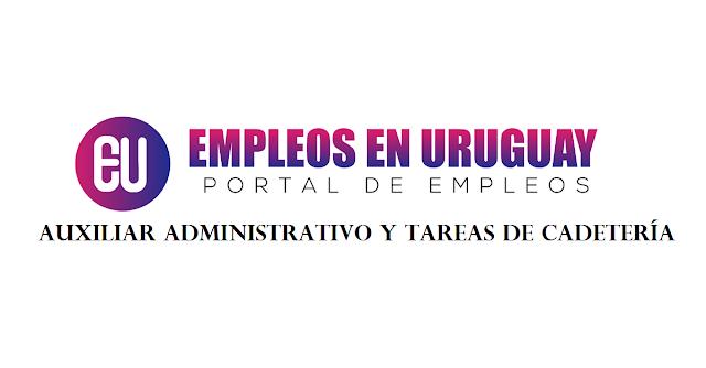 Auxiliar Administrativo y Tareas de Cadetería