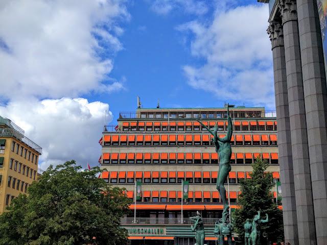 Stockholm's Haymarket Square