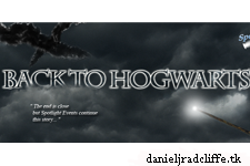 Spotlight Event's: Harry Potter: Back to Hogwarts