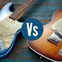 """Mengenal Perbedaan Gitar listrik Stratocaster dan Telecaster"""""""