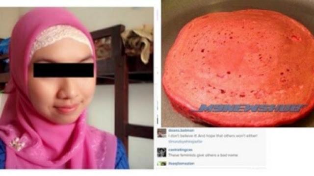 Wanita ini Dikecam karena Buat Kue Dicampur Darah Haidnya