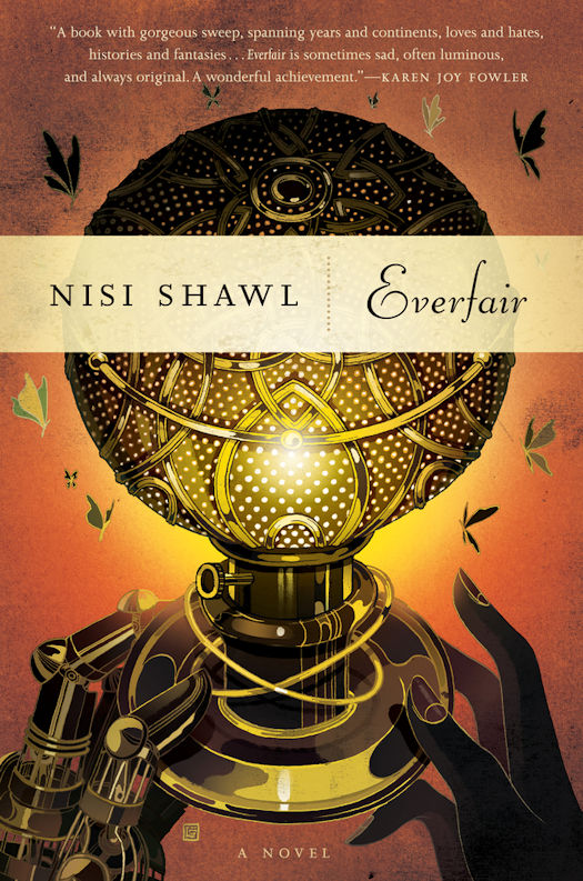 2016 Debut Author Challenge Update - Everfair by Nisi Shawl