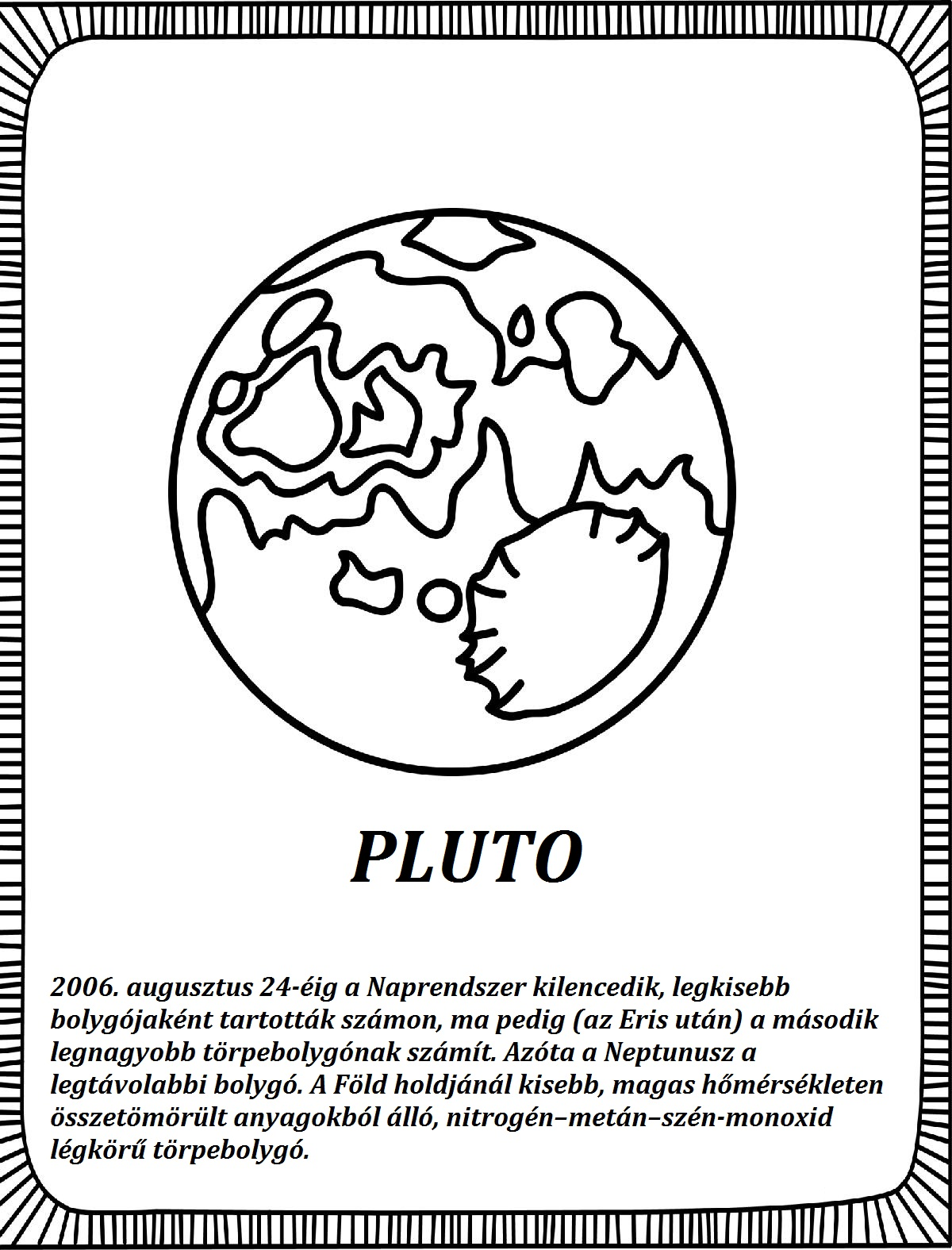Solar System Coloring Pages Blog Page 014