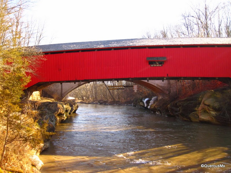 Narrows Covered Bridge - Turkey Run State Park