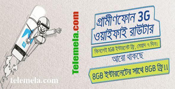 Grameenphone 3G Wifi Router and Pocket Router