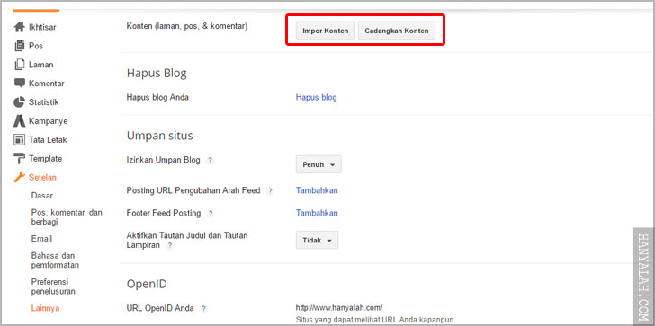 Cara Redirect 301 Domain Blogspot Lama ke Domain Blogspot Baru (Blogger)