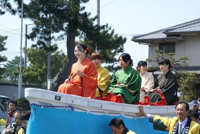 Goshiki-Hime Fukkatsu-sai (Reborn of Heike's Princess), Iyo City, Ehime