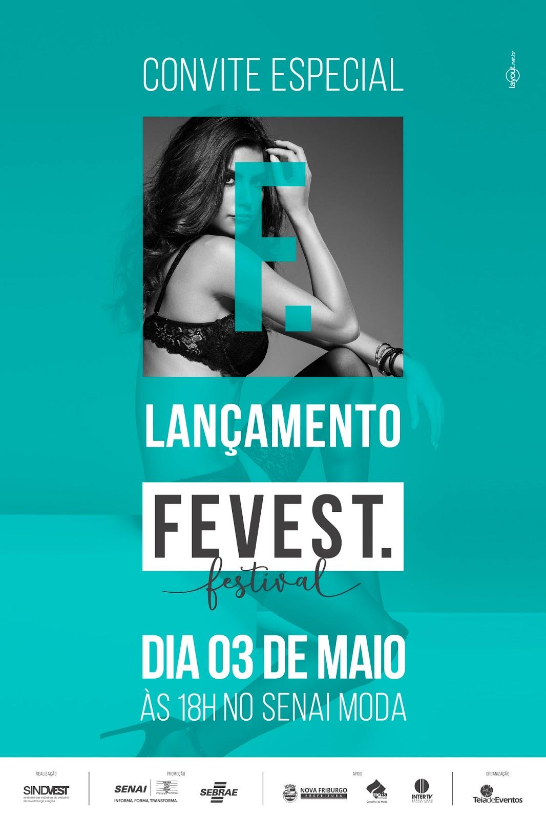 780689b31 Convite para o lançamento da Fevest