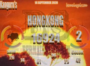 Kode syair Hongkong Senin 14 September 2020 168