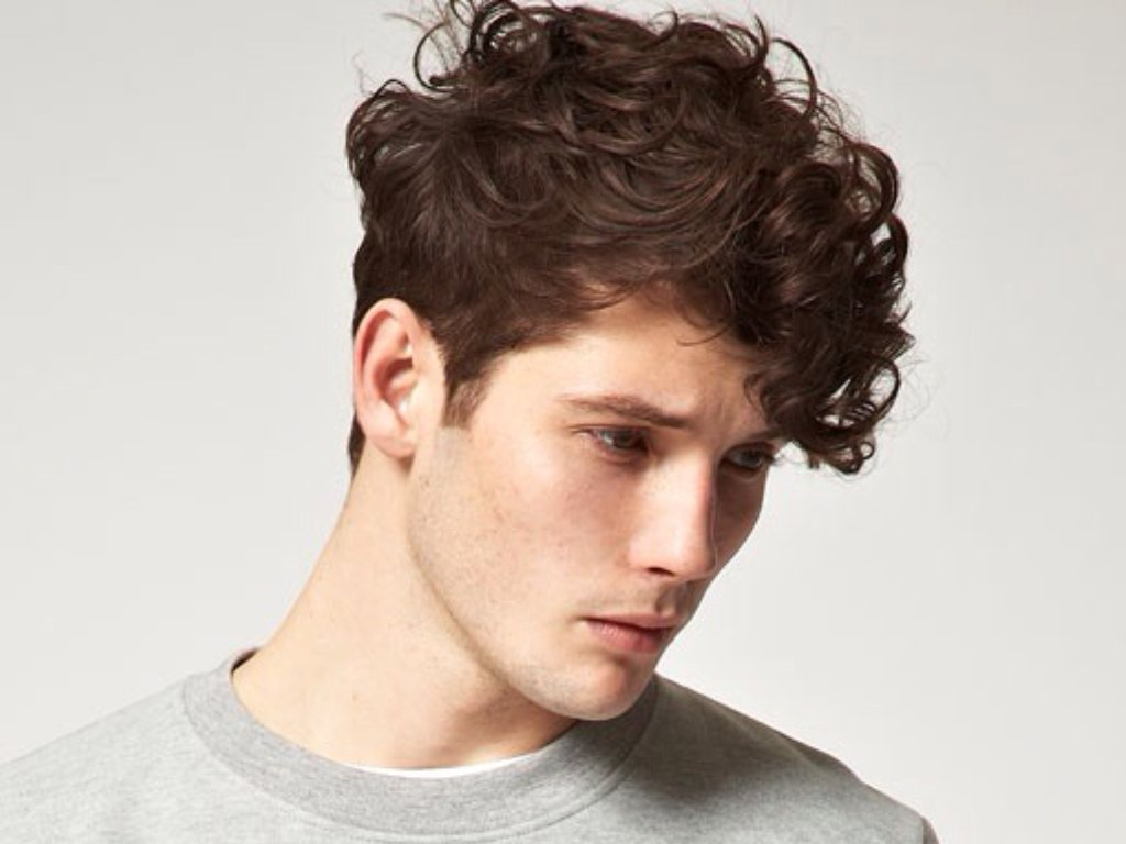 Haircuts For Men With Curly Hair Fashions Style And Hairstyle