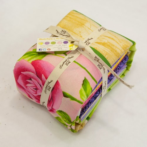 Fat Quarter Bundle of Block Party - giveaway at Freemotion by the River