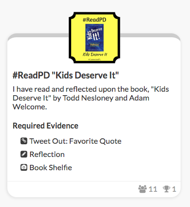 Kids Deserve It badge!