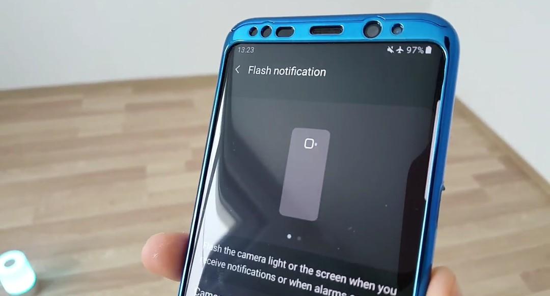 flash notifications