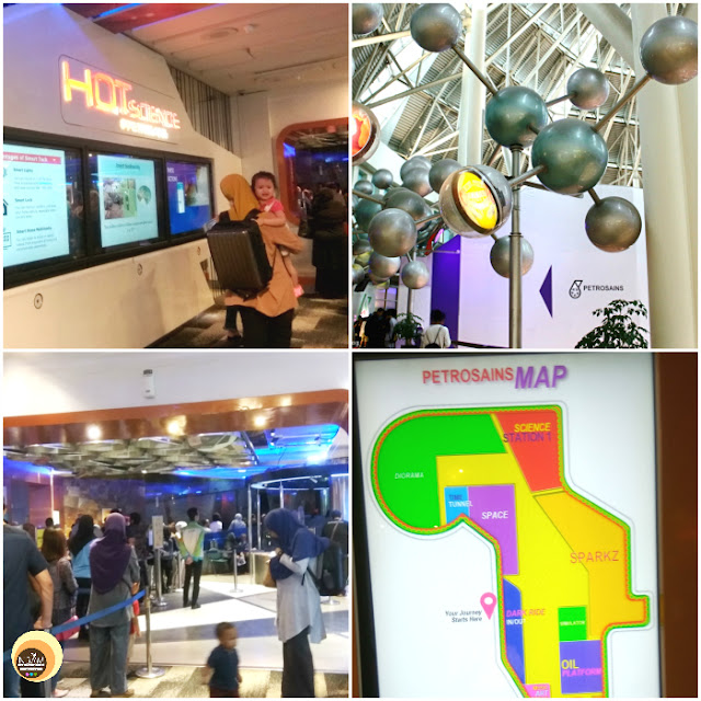Petrosains, the science discovery centre at Petronas Twin Towers, Kuala Lumpur, Malaysia tourist attraction, best places to see in KL