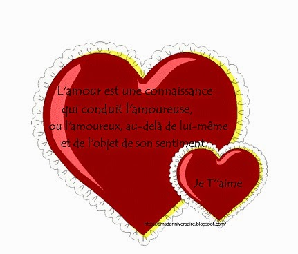Message saint-valentin
