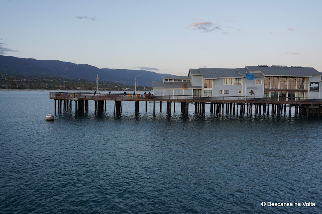 Stearns Wharf Santa Barbara California