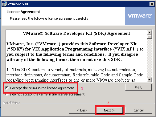 VMware VIX License