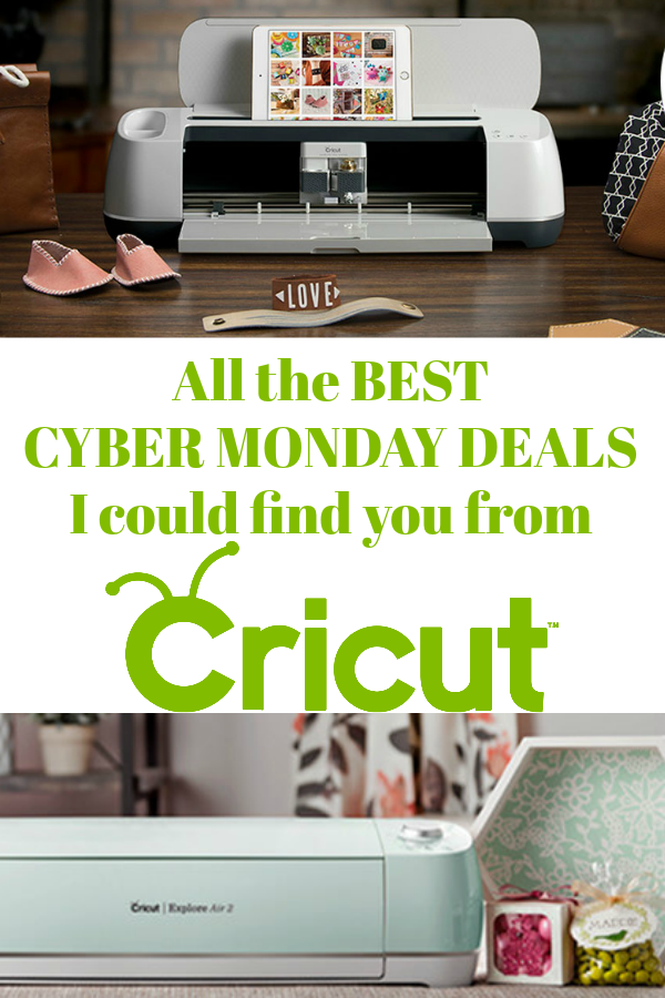 Cyber Monday with Cricut