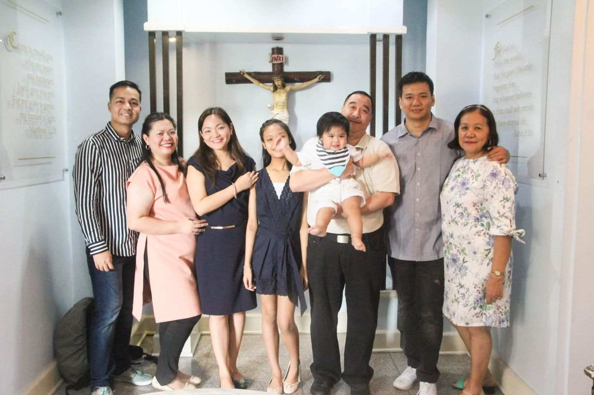 Miguel's Baptism and First Birthday Celebration