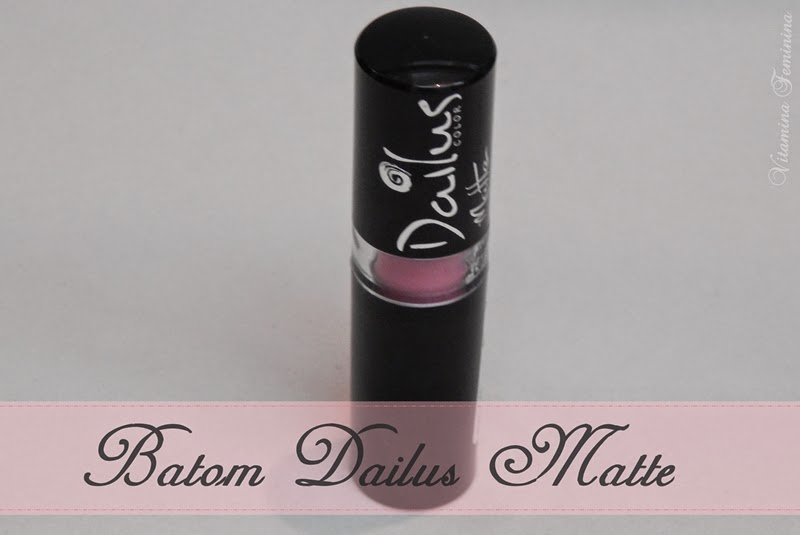 Batom Matte Dailus Color 06-Cup Cake