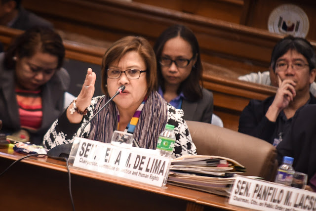 Sen. De Lima Explosive Statement on Her Alleged Links to NBP Drug Trades. READ HERE!