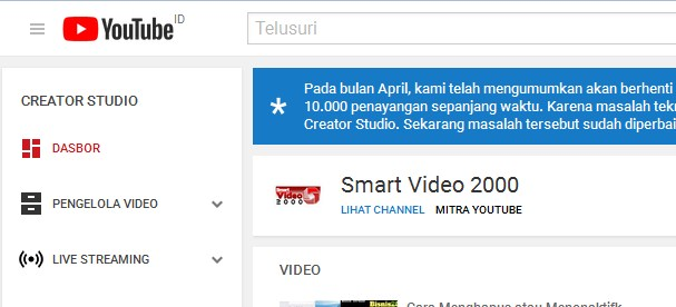 10 000 View Untuk Tampilkan Iklan Dan Meraih Pendapatan Google Adsense Di Youtube Www Bisnis2000 Com