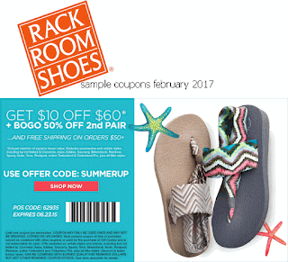 free Rack Room Shoes coupons for february 2017