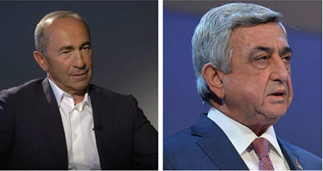 Expresidentes Kocharian y Sarkisian no son más ciudadanos honorarios de Gyumri