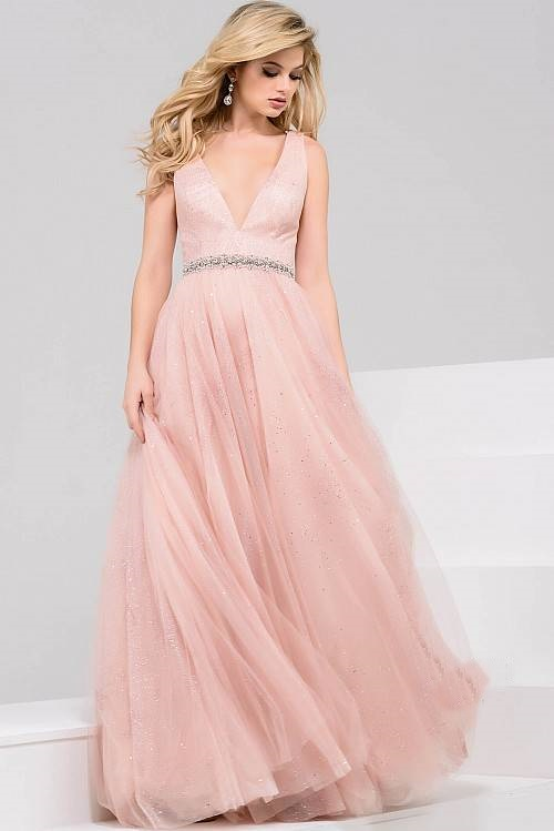 Dorable Vestido De Fiesta Rosa Jovani Modelo - Ideas de Estilos de ...