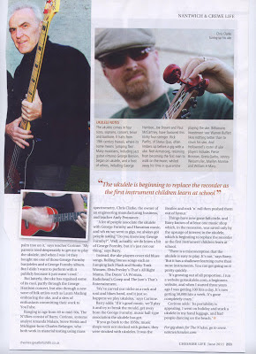 N'Ukes in Cheshire Life page 2