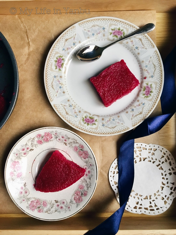 Halawet El Smeed | Semolina Pudding | Beets