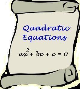 Quadratic Equations Shortcuts with Examples | Bank Exams Today  Quadratic Equat...