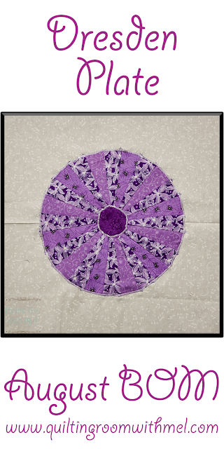dresden plate quilt block of the month
