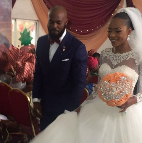 photograph of Governor Ayo Fayose's niece in Lagos yesterday