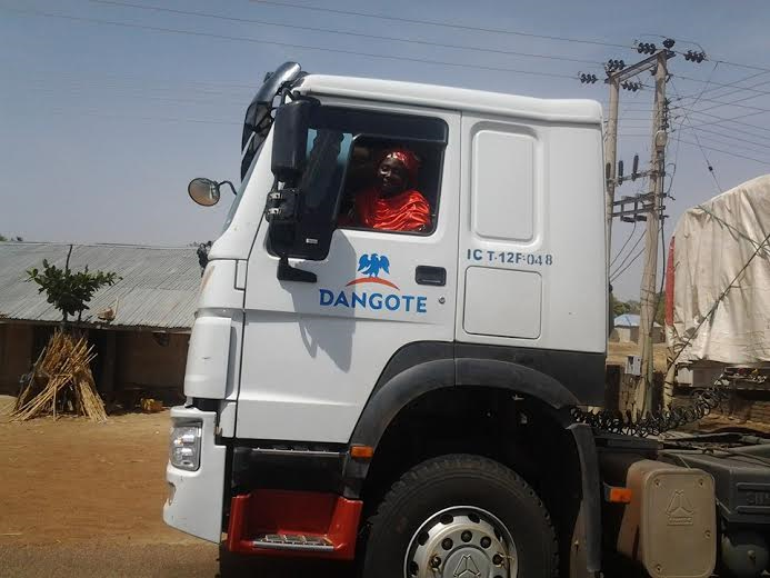 Image result for dangote trucks