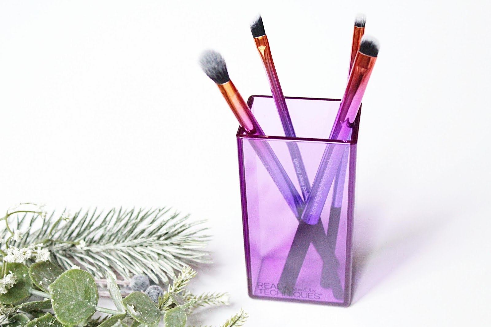 Real Techniques Christmas Brush Sets