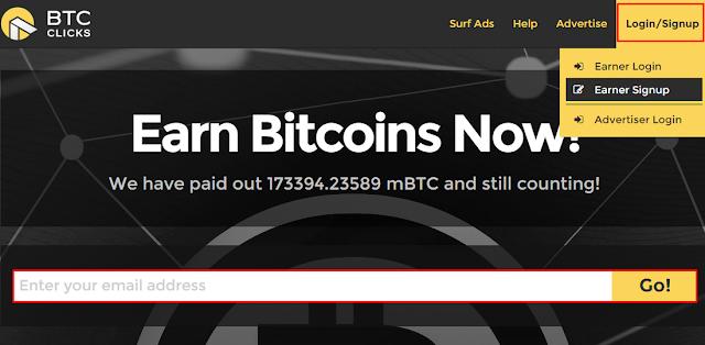 btcclicks ganar bitcoin