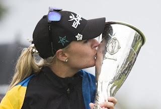 GOLF - Anna Nordqvist logra su segundo 'major' en el cierre de temporada en Evian