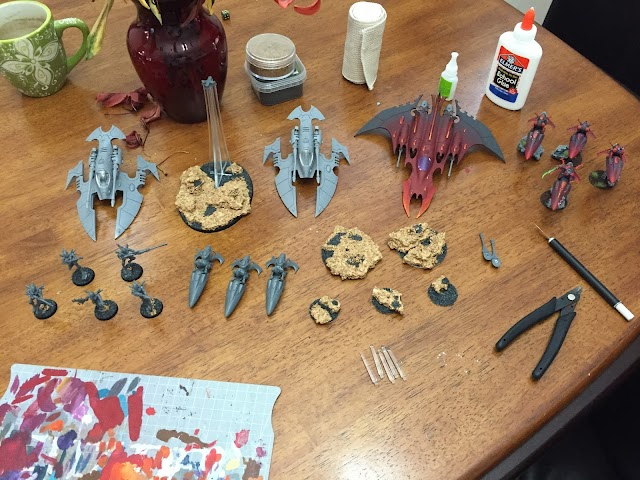 What's On Your Table: Eldar Corsairs