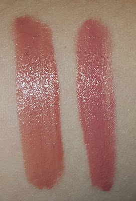 Dupe Alert: Too Faced Melted Lipstick in Chihuahua vs Maybelline Color Jolt in Stripped Down