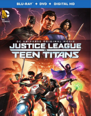 Baixar justice league vs teen titans blu ray poster Liga da Justiça vs Novos Titãs BRRip XviD & RMVB Legendado Download