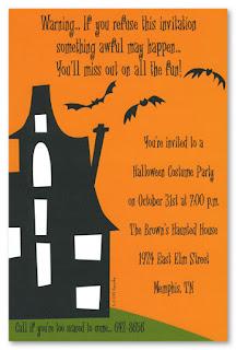 Free Halloween Invitation Cards - Halloween Celebration